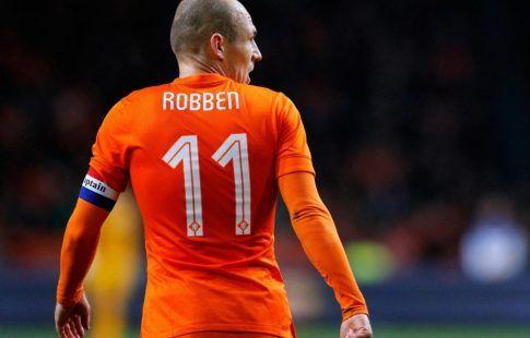 Арьен Роббен объявил об уходе из сборной Нидерландов