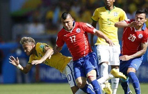 Футбол, ЧМ-2018, квалификация, Бразилия - Чили, прямая текстовая онлайн трансляция