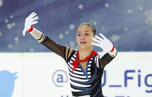 Фигуристка Константинова выиграла короткую программу на этапе Кубка России