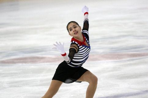 Фигуристка Константинова выиграла второй этап Кубка России