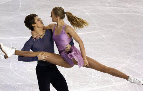 Майя и Алекс Шибутани лидируют после короткого танца, Екатерина Боброва/Дмитрий Соловьёв - вторые