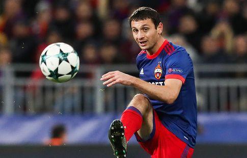 Дзагоев восстановился от травмы и вернулся в общую группу ЦСКА