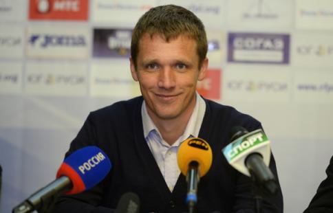 Гончаренко прервал флеш-интервью после трёх вопросов об удалении игрока ЦСКА