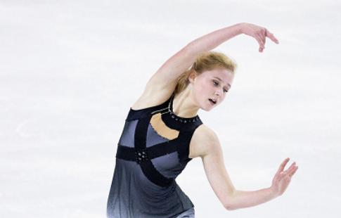 Фигуристка Саханович заняла второе место на турнире в Минске