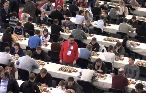 Сборная России победила словенцев на старте командного чемпионата Европы по шахматам