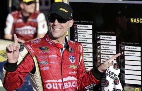 Харвик выиграл гонку NASCAR Cup в Техасе