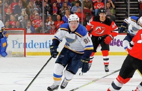 Тарасенко признан первой звездой дня в НХЛ, Малкин – третьей