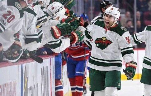 """Форвард """"Миннесоты"""" Цукер – первая звезда дня в НХЛ. ВИДЕО"""