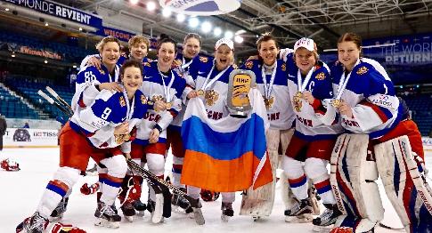 Женская сборная России по хоккею победила немок на Турнире четырёх наций