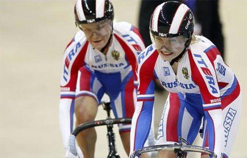 Войнова и Шмелёва заняли второе место в командном спринте на этапе КМ по велотреку