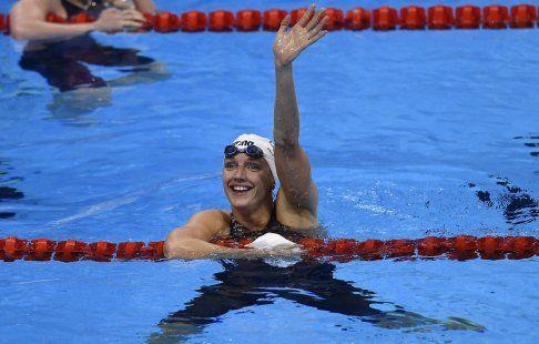 Венгерка Хоссу победила на 400 м комплексом на ЧЕ по плаванию