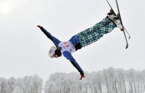 Александра Орлова  завоевала бронзу в лыжной акробатике на этапе Кубка мира в Москве