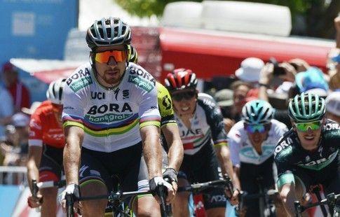 """Словак Саган первенствовал на четвёртом этапе шоссейной веломногодневки """"Тур Даун Андер"""""""