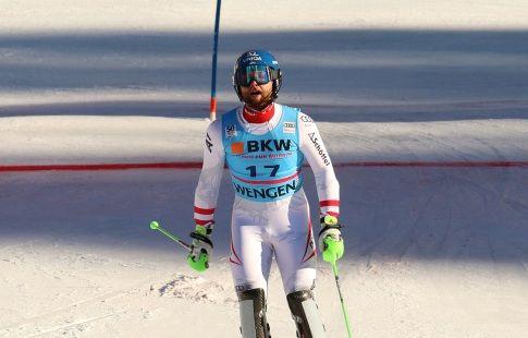 Ценхойзерн выиграл параллельный слалом на этапе КМ в Стокгольме