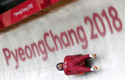 Саночник Репилов занимает восьмое место на ОИ-2018 после третьей попытки