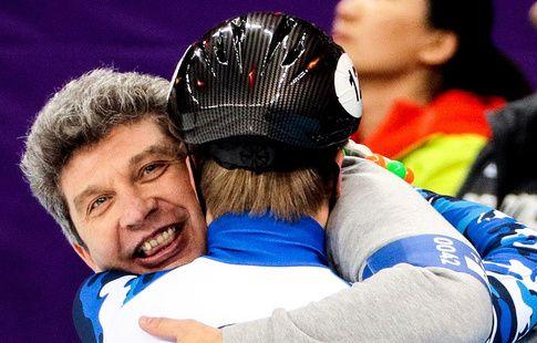Главный тренер остался доволен выступлением российских шорт-трекистов на Олимпиаде-2018