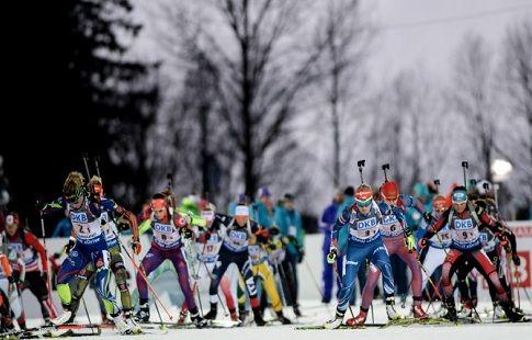 Назван состав сборной России на мужскую эстафету в Хольменколлене