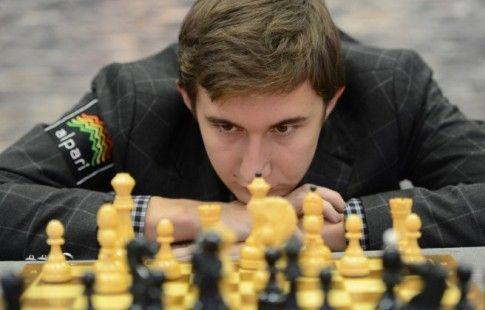 Карякин победил Ароняна на турнире претендентов