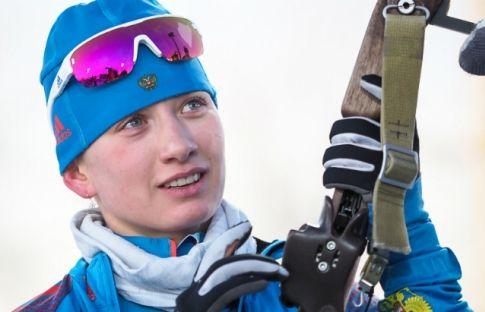 Миронова - лучший новичок сезона по версии Международного союза биатлонистов