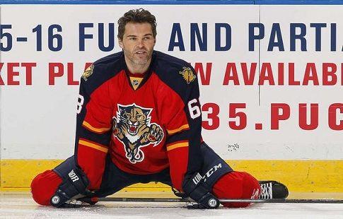 """Ягр: """"Не хочу завершать карьеру, с большим удовольствием сейчас бы играл в НХЛ"""""""