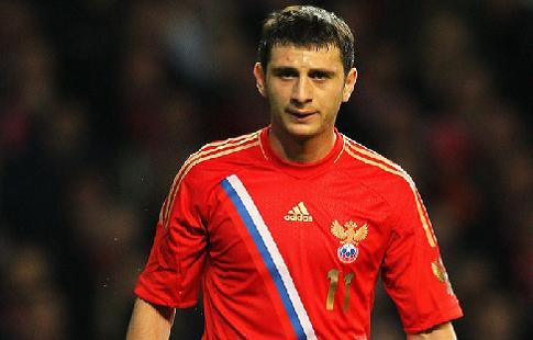 Дзагоев пропускает тренировку сборной России в субботу, Жирков работает индивидуально