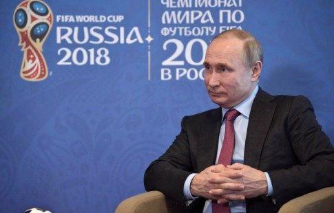 """Путин: """"В ходе ЧМ было нейтрализовано 25 млн кибератак на инфраструктуру России"""""""