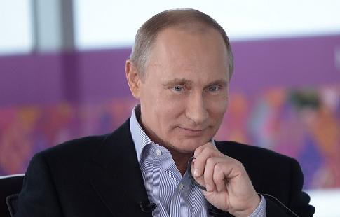 Путин заявил, что спорт в России находится на подъёме