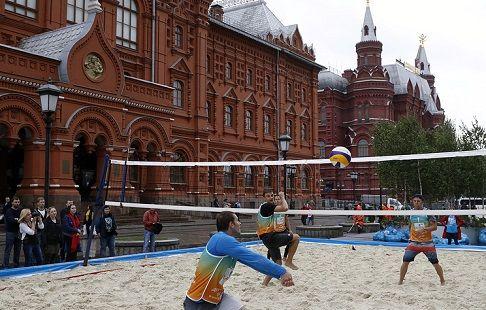 Чемпионат Европы по пляжному волейболу 2019 года пройдёт в Москве