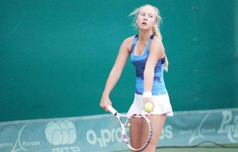 Потапова вышла в четвертьфинал турнира Moscow River Cup