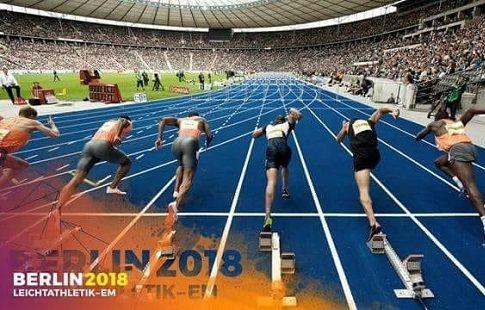 Британцы Хьюз и Ашер-Смит победили в беге на 100 метров на ЧЕ-2018 по лёгкой атлетике