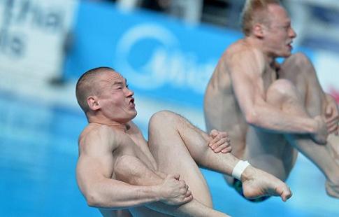Кузнецов и Захаров завоевали золото чемпионата Европы в прыжках с трёхметрового трамплина