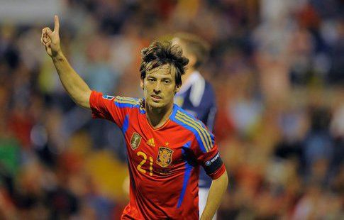 Давид Сильва объявил о завершении карьеры в сборной Испании