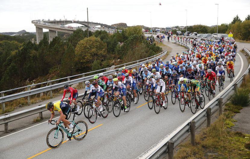Сборная России стартует на чемпионате мира по велоспорту на шоссе в Инсбруке