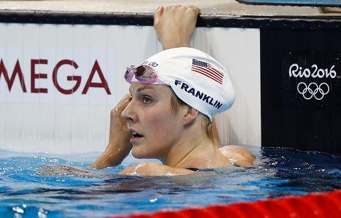 Пятикратная олимпийская чемпионка по плаванию Франклин выходит замуж. ФОТО