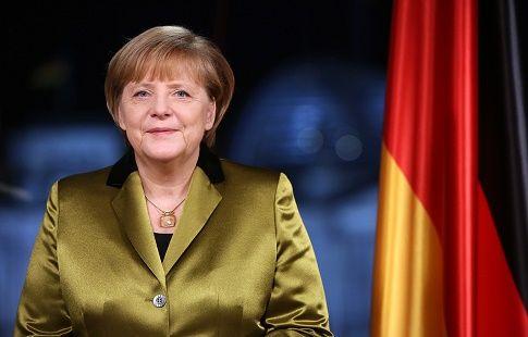 """Ангела Меркель: """"Германия станет прекрасной хозяйкой Евро-2024"""""""
