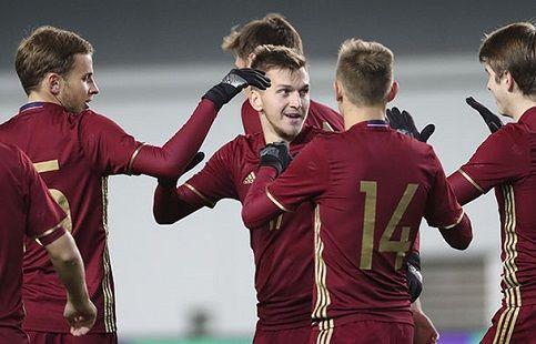 Матча квалификации ЧЕ-2019 Австрия - Россия. ВИДЕО