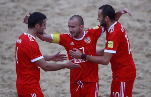 Пляжный футбол, Межконтинентальный Кубок, Россия - Иран, прямая текстовая онлайн трансляция