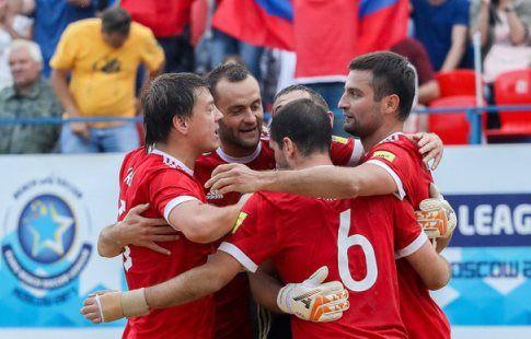 Россияне вышли в финал Межконтинентального Кубка, обыграв сборную Бразилии в серии пенальти