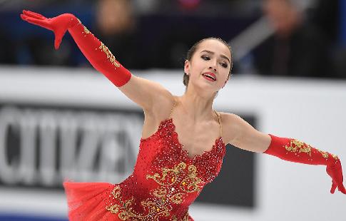 Загитова обновила мировой рекорд в короткой программе