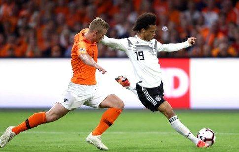 Гол Промеса помог Нидерландам уйти от поражения в матче с Германией