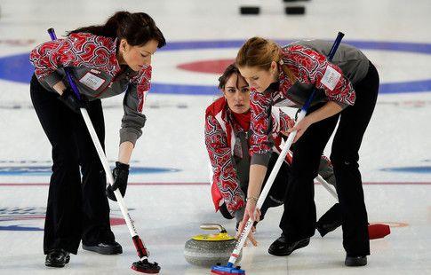 Российские кёрлингистки проиграли Швейцарии на чемпионате Европы