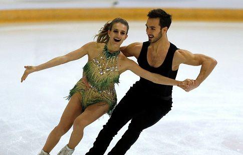Internationaux de France, танцы на льду, ритм-танец, прямая текстовая онлайн трансляция
