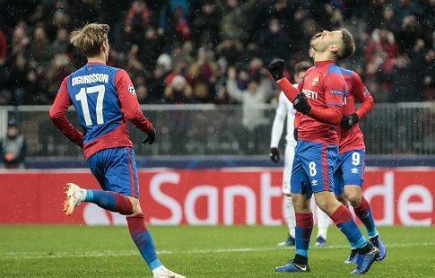 Шансы ЦСКА на выхода в плей-офф Лиги Европы