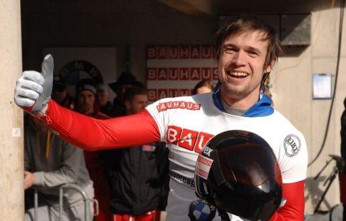 Скелетонист Третьяков одержал победу на этапе Кубка мира в Винтерберге