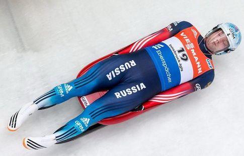 Саночник Репилов выиграл золото на этапе Кубка мира в Лейк-Плэсиде