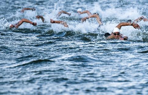 Женская сборная России - четвёртая в эстафете 4 по 50 метров вольным стилем на ЧМ