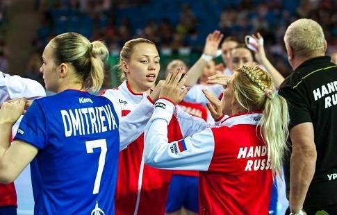Женская сборная России по гандболу вернулась в Москву с чемпионата Европы
