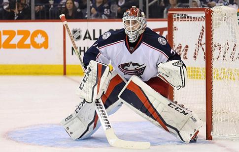 Бобровский - первая звезда дня в НХЛ