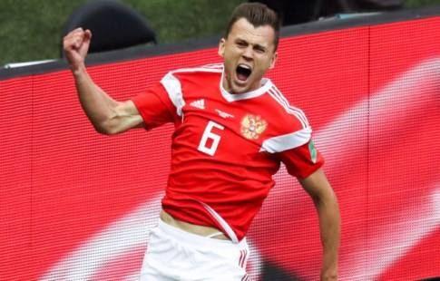 Черышев занял 87-е место в рейтинге 100 лучших футболистов 2018 года