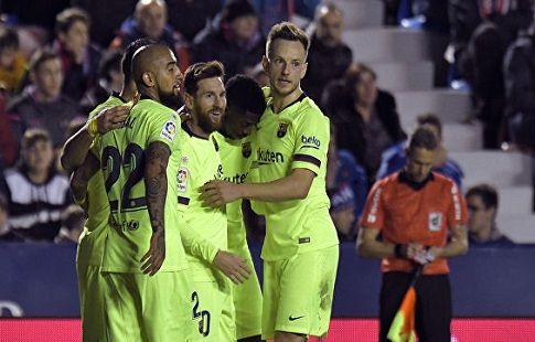 Футбол. Примера, Барселона - Сельта, прямая текстовая онлайн трансляция